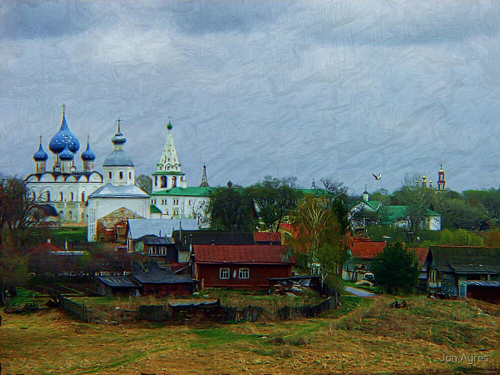 Russian Countryside5 by Jon Ayres