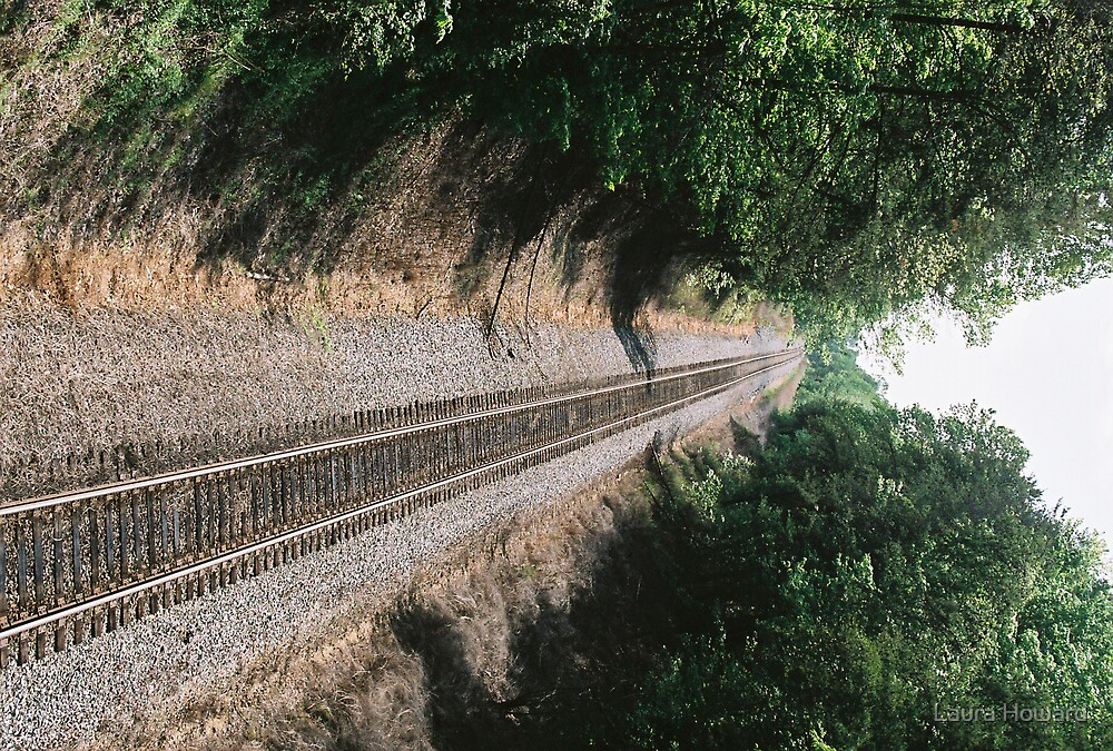 Railroad Track by Laura Howard
