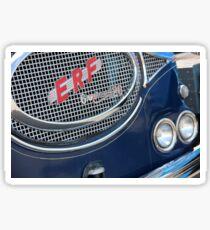 ERF Truck Badge Sticker
