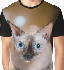 Sphynx Cat Graphic T-Shirt