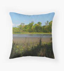 Oshawa Marsh Throw Pillow