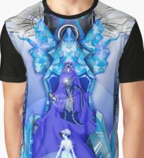 Blue diamond Graphic T-Shirt
