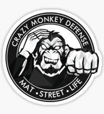 Crazy Monkey Geometric (V.1)  Sticker