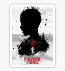Stranger Things - Poster Sticker