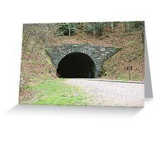 Tunnel - Blue Ridge Parkway Greeting Card