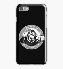 Crazy Monkey Geometric (V.2) iPhone Case/Skin