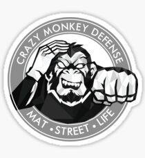 Crazy Monkey Geometric (V.2) Sticker