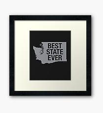 Washington - Best State Ever - Washington Gifts Framed Print