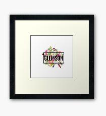 Clemson Framed Print
