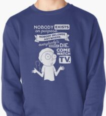 Rick and Morty Schwifty Wubba Lubba Fair Use Nobody Exists on Purpose Pullover
