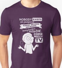 Rick and Morty Schwifty Wubba Lubba Fair Use Nobody Exists on Purpose Unisex T-Shirt