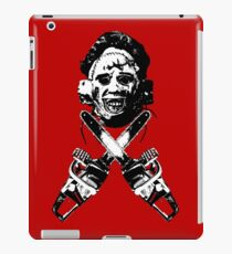Leather Face  iPad Case/Skin