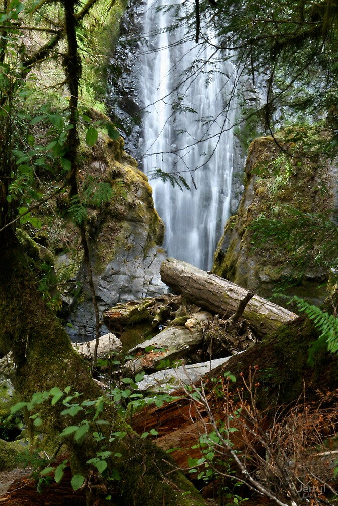 Waterfall 5567 by JerryI