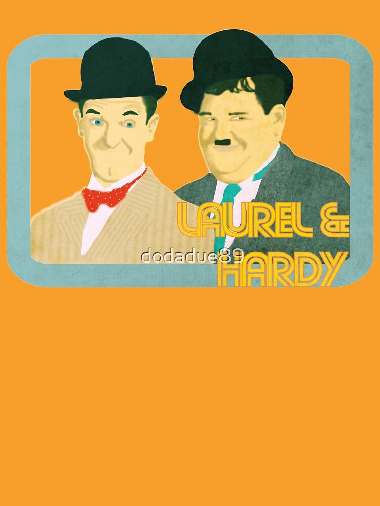 Laurel & Hardy by dodadue89