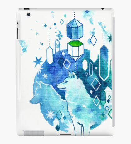 Canis Phthalocyanine (the blue-green guard dogs) iPad Case/Skin