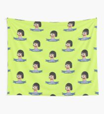 Tina Belcher Wall Tapestry