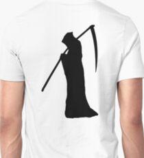 Grim Reaper, Death, Spectre of Death, DEATH, HALLOWEEN, on WHITE T-Shirt
