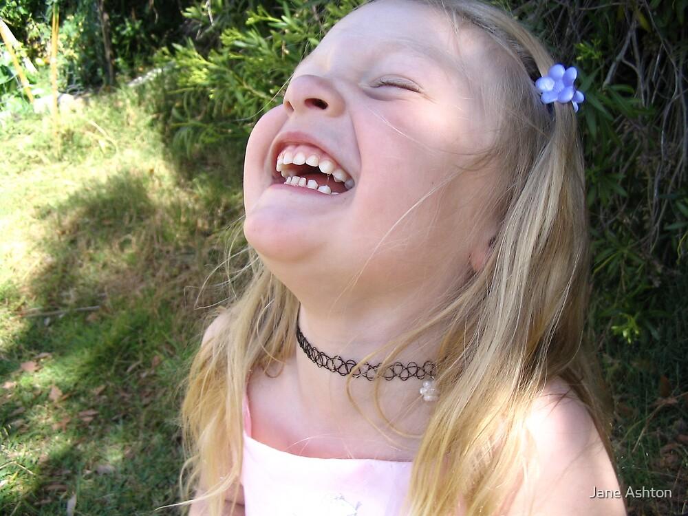 happy girl by Jane Ashton