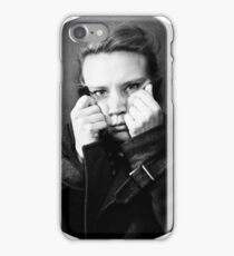 B&W Kate iPhone Case/Skin
