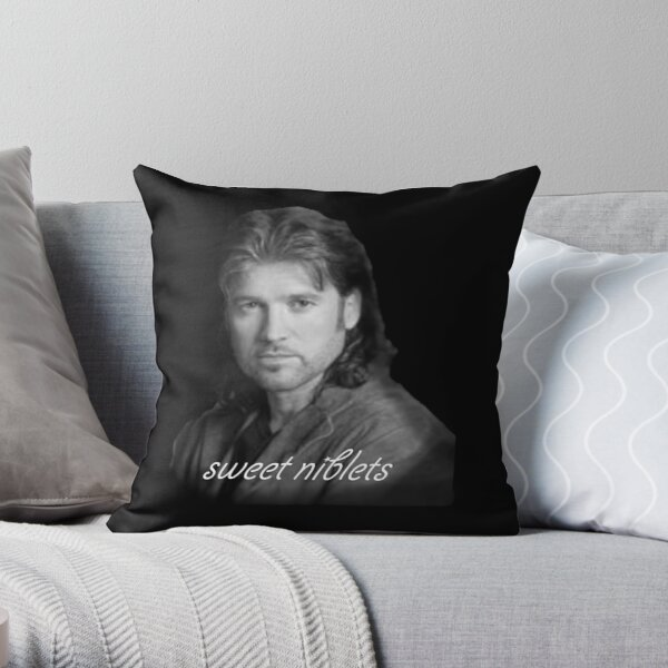 Billy Ray Cyrus Sweet Niblets  Throw Pillow