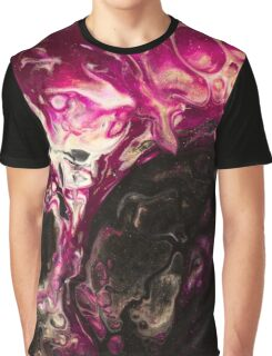 Fluid Expressions -  Dreaming of Galaxy Graphic T-Shirt