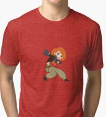 Kim Possible Tri-blend T-Shirt