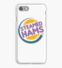 Steamed Hams (Skinner Edition) iPhone Case/Skin