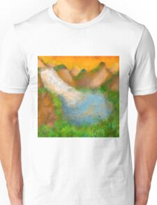 Valley drawing Unisex T-Shirt