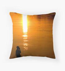 The Modern Fisherman Throw Pillow