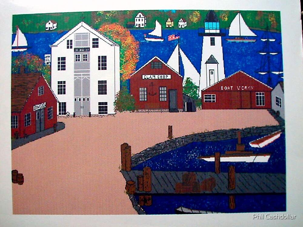 Seaport by Phil Cashdollar