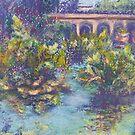 Balboa Gardens (pastel) by Niki Hilsabeck