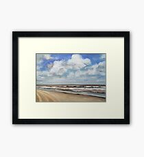 North Sea Scape Framed Print