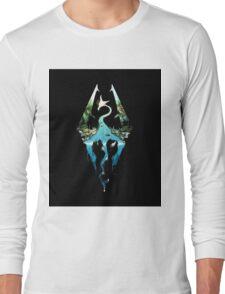 Skyrim - Dragonborn Logo Edit Long Sleeve T-Shirt