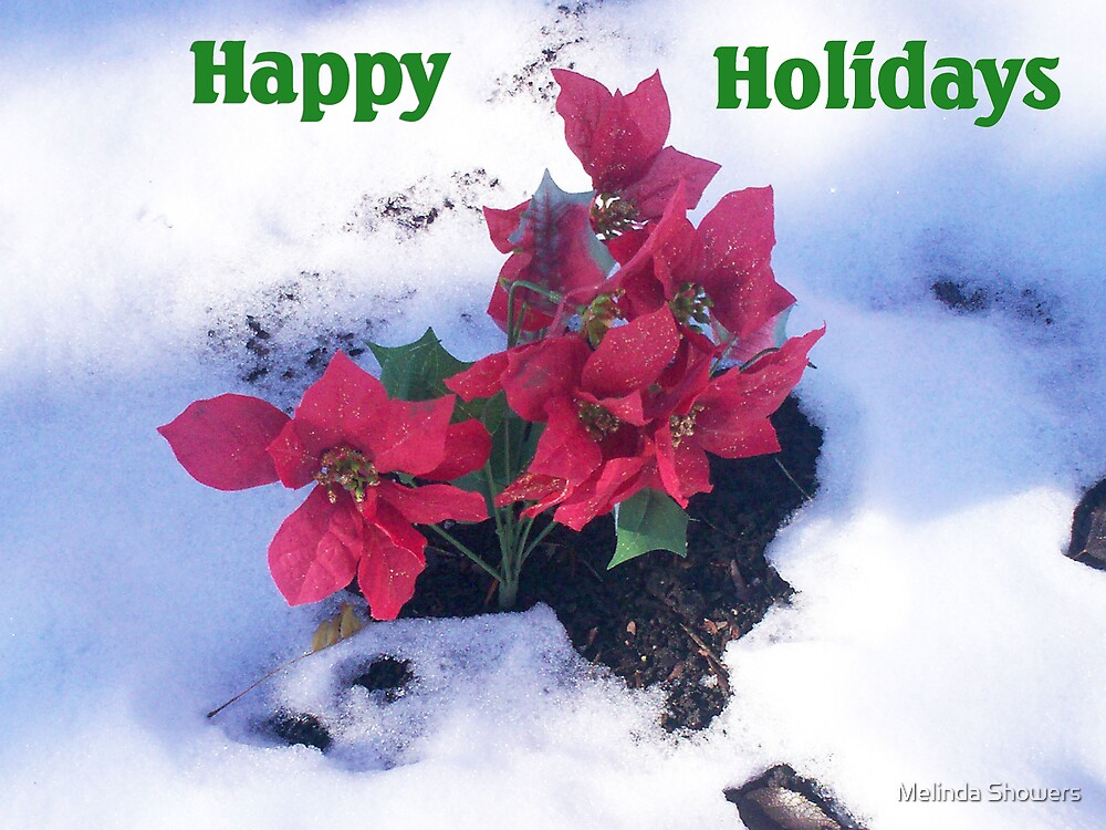 Happy Holidays by Melinda Showers