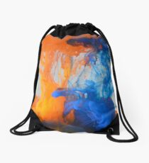 Acrylic paint in water Drawstring Bag