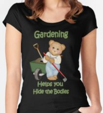 Gardening Tips Women's Fitted Scoop T-Shirt