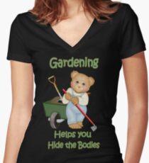 Gardening Tips Women's Fitted V-Neck T-Shirt