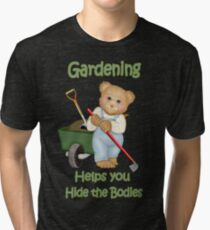 Gardening Tips Tri-blend T-Shirt