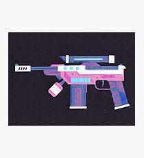 Space Gun Photographic Print