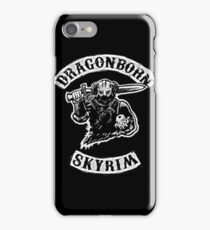 Skyrim - Sons of Anarchy Dragonborn Edit iPhone Case/Skin