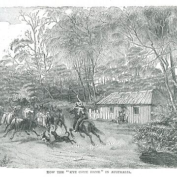 When the Kye come Hame Australia 19th Century by artfromthepast