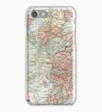 Vintage Map of Scotland iPhone Case/Skin