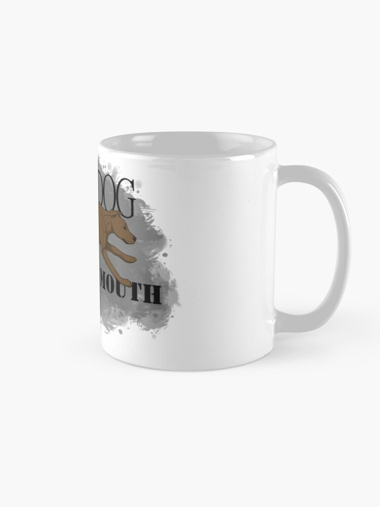 Alternate view of Run Your Dog Not Your Mouth American Pit Bull Terrier Rust Mug