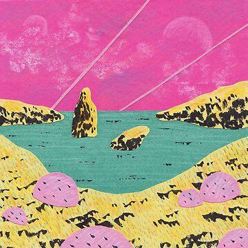 Mini landscape 1 by lintho