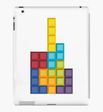 8bit Tetris (v2) iPad Case/Skin
