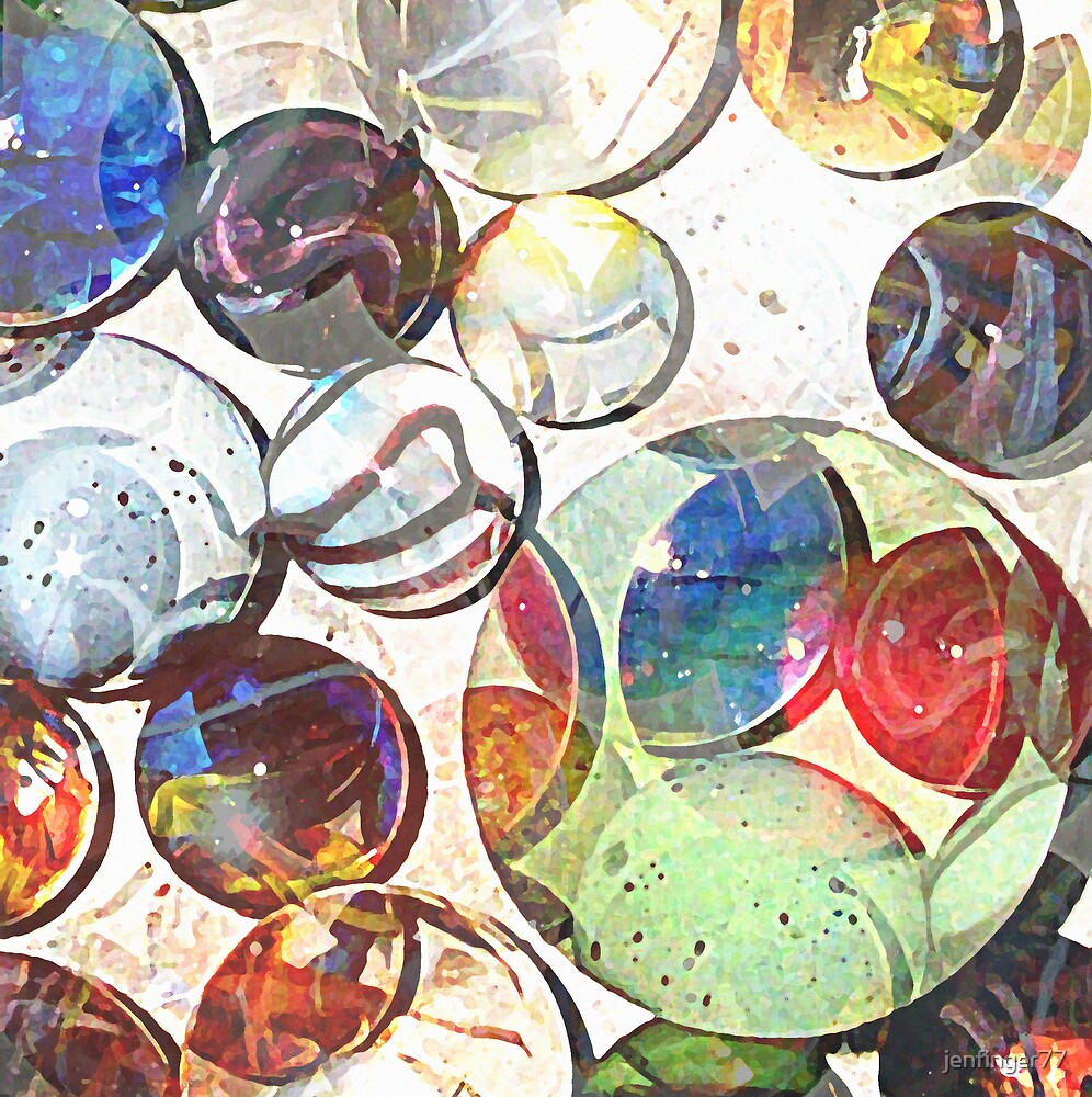 Marbles Beget Marbles by jenfinger77
