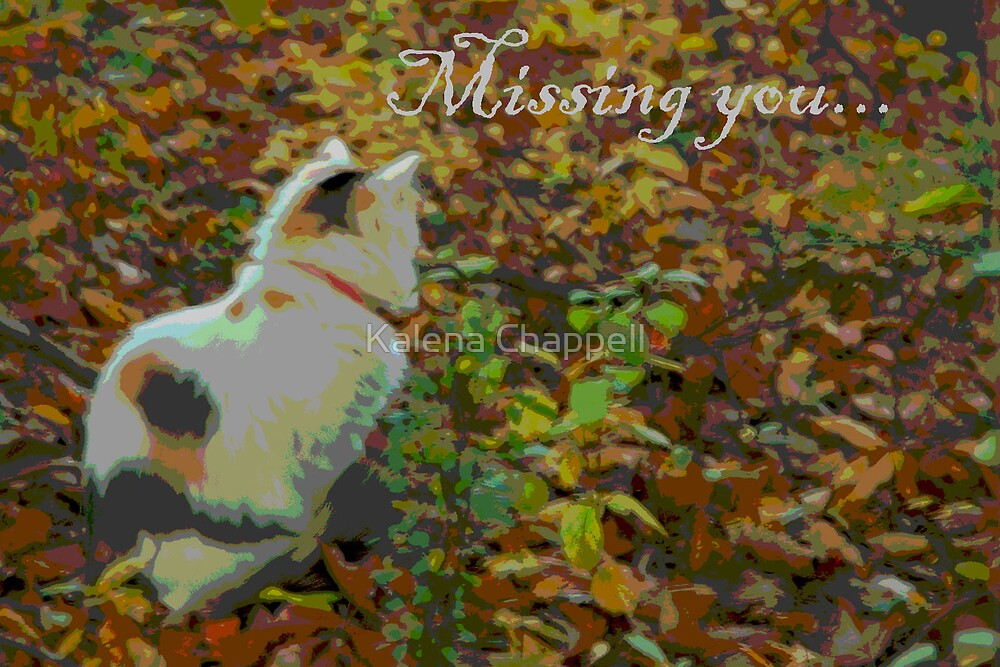 Missing you... by Kalena Chappell