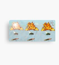 Fire Fly Firefly Canvas Print