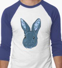 Dr. Squishems the pattern eared bunny Men's Baseball ¾ T-Shirt