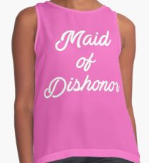 Maid of Dishonor Contrast Tank